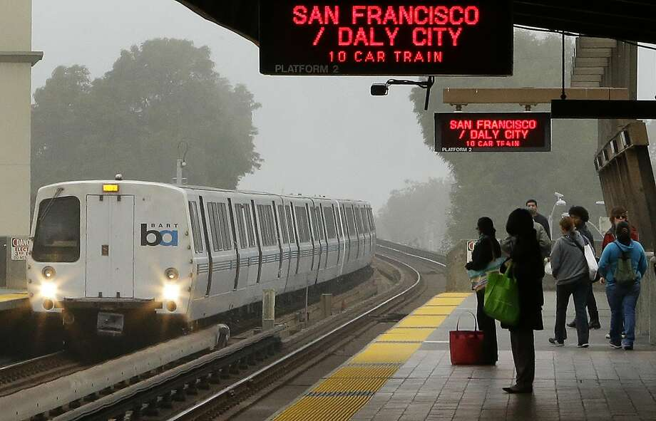 On-again, off-again transit worker strikes in 2013 infuriated many BART riders. One San Francisco Chhronicle reader writes that banning a working person from striking is, in effect, making them an indentured servant. Photo: Ben Margot, AP