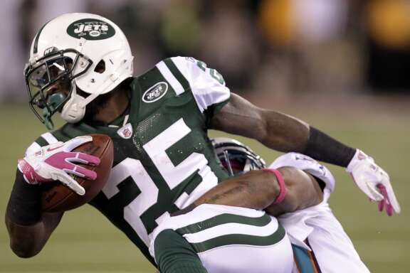 Joe McKnight  Age: 25 NFL experience: 3 seasons Career rushing yards: 502 Career receiving yards: 177
