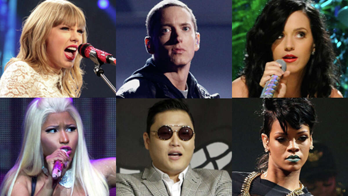 Voting is under way for the first-ever YouTube Music Awards, which allows YouTube users to cast their votes by sharing the videos for their favorite nominees on Facebook, Twitter or Google+. Is this social networking genius? Only time will tell. In the meantime, we've gathered up the nominees for Artist of the Year.