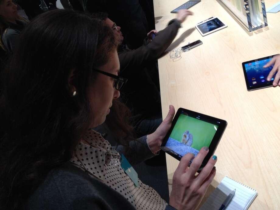 iPad Mini with Retina display Photo: Benny Evangelista, The Chronicle