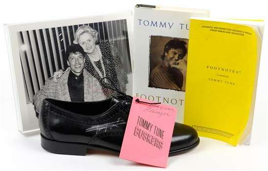SIGNED TOMMY TUNE MEMORABILIA 