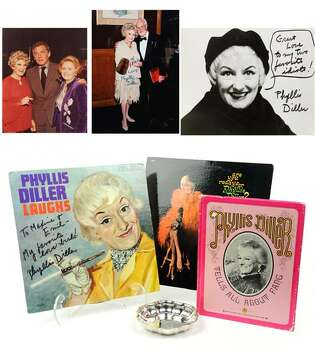 PHYLLIS DILLER MEMORABILIA WITH AUTOGRAPHS 