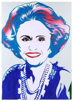 PORTRAIT OF MAXINE AFTER ANDY WARHOL 