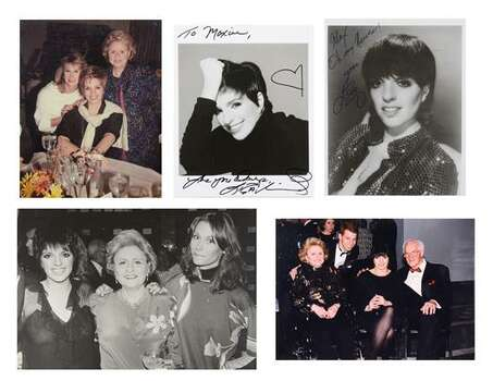 LIZA MINELLI MEMORABELIA WITH SIGNATURES 