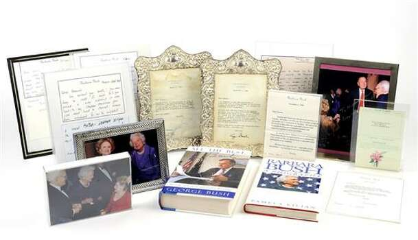 PRESIDENT AND MRS. GEORGE H. BUSH MEMORABILIA 