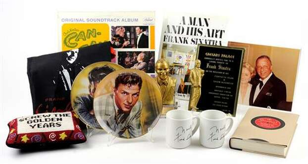 FRANK SINATRA MEMORABILIA 