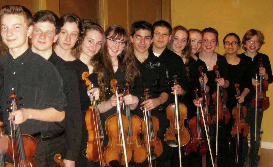 The Vivace Strings are on the program for the Music for Youth benefit concert. Photo: Contributed Photo / Fairfield Citizen