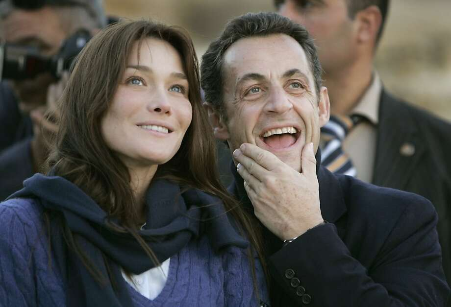 "6. Carla Bruni: ""From the runways of famous fashion houses such as Versace to becoming the First Lady of France - SAY NO MORE!"" Photo: Ben Curtis, AP"