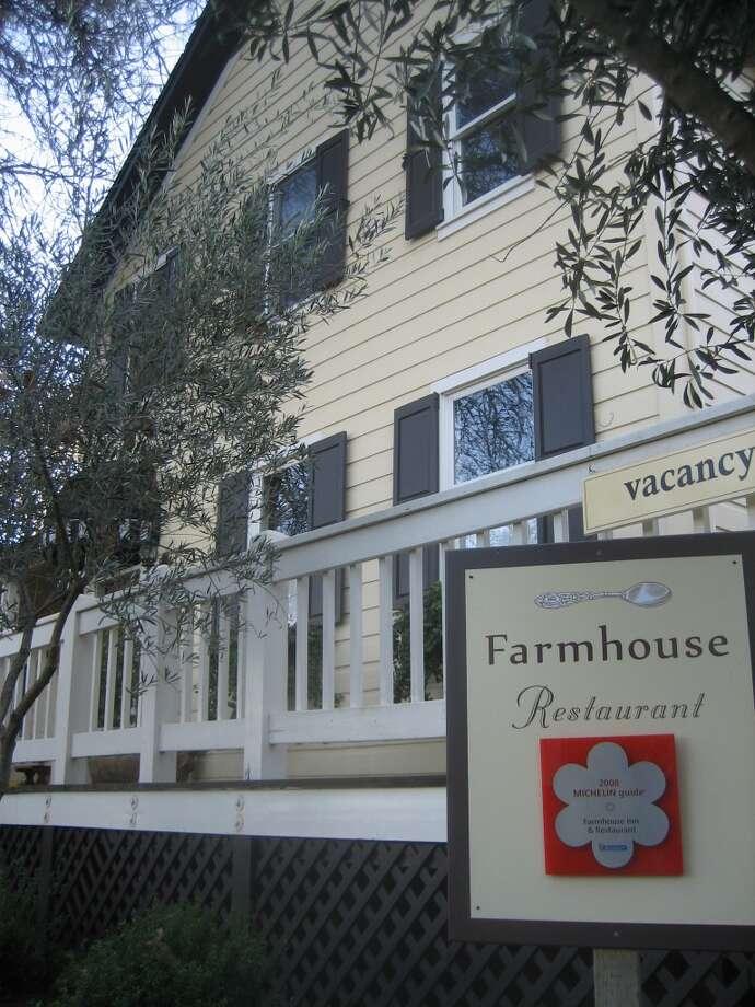 ONE STAR: The Farmhouse Inn and Restaurant, Sonoma County Photo: Kirk Seward, Courtesy To The Chronicle