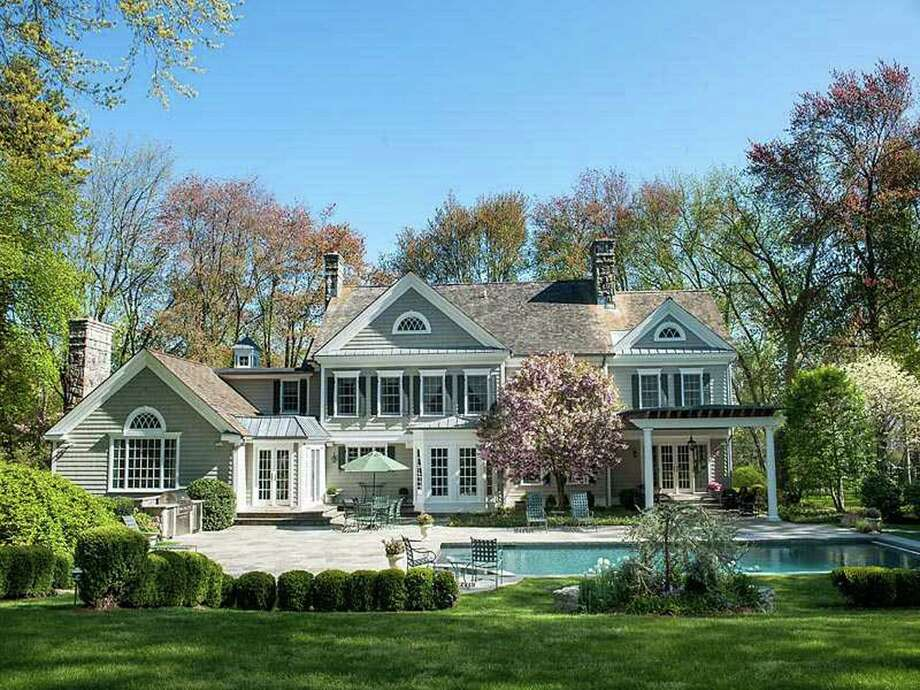 The ìBuy of the Weekî in Greenwich, says Ken Edwards, was the property at 2 Lauder Way . . . priced at $6,200,000. Photo: Contributed Photo / Greenwich Citizen