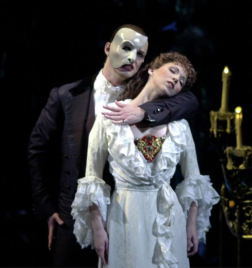 'Phantom of the Opera,' 2001. Photo: KEVIN GEIL, San Antonio Express-News / SAN ANTONIO EXPRESS-NEWS