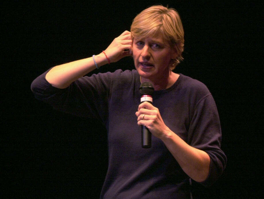 Ellen DeGeneres, 2000. Photo: EDWARD A. ORNELAS, San Antonio Express-News / EN