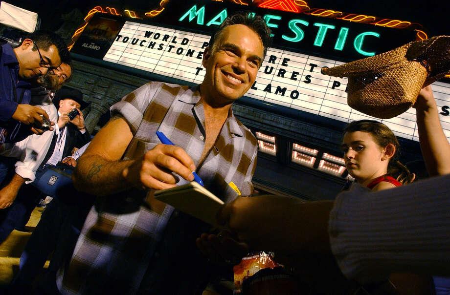 Billy Bob Thornton at the premiere of 'The Alamo' movie, 2004. Photo: GLORIA FERNIZ, San Antonio Express-News