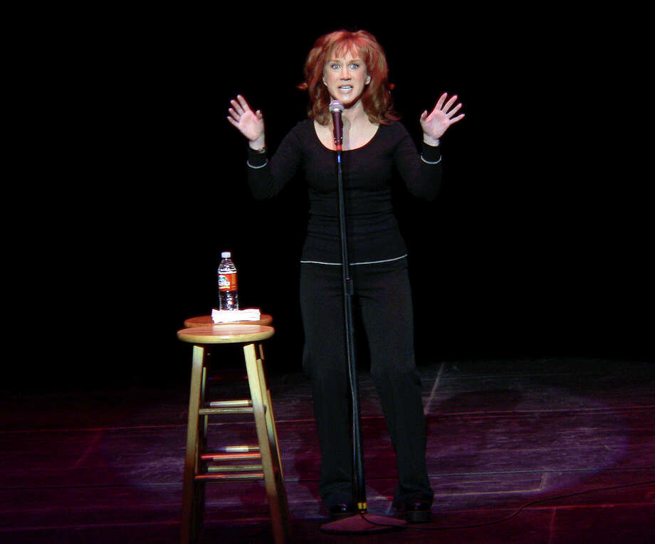 Self-proclaimed 'quasi-celebrity' Kathy Griffin performs her standup routine at the Majestic Theater  back in  2006.  Photo: BILLY CALZADA, San Antonio Express-News / SAN ANTONIO EXPRESS-NEWS