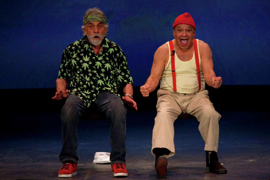 Cheech & Chong, 2009. Photo: NICOLE FRUGE, San Antonio Express-News / nfruge@express-news.net