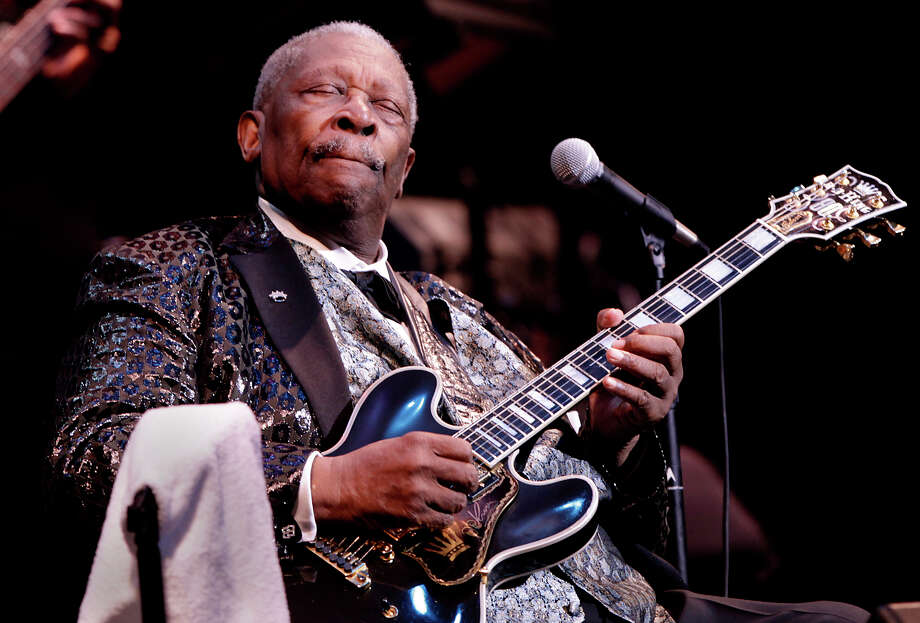 B.B. King, 2010. Photo: BOB OWEN, San Antonio Express-News / SAN ANTONIO EXPRESS-NEWS