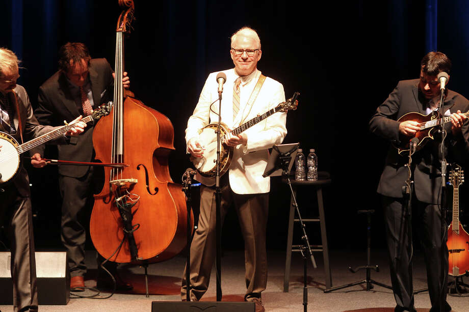 Steve Martin and the Steep Canyon Rangers, 2011. Photo: Jennifer Whitney, San Antonio Express-News / SAN ANTONIO EXPRESS-NEWS