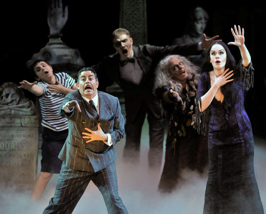 'The Addams Family,' 2013. Photo: Robin Jerstad, San Antonio Express-News / San Antonio Express-News