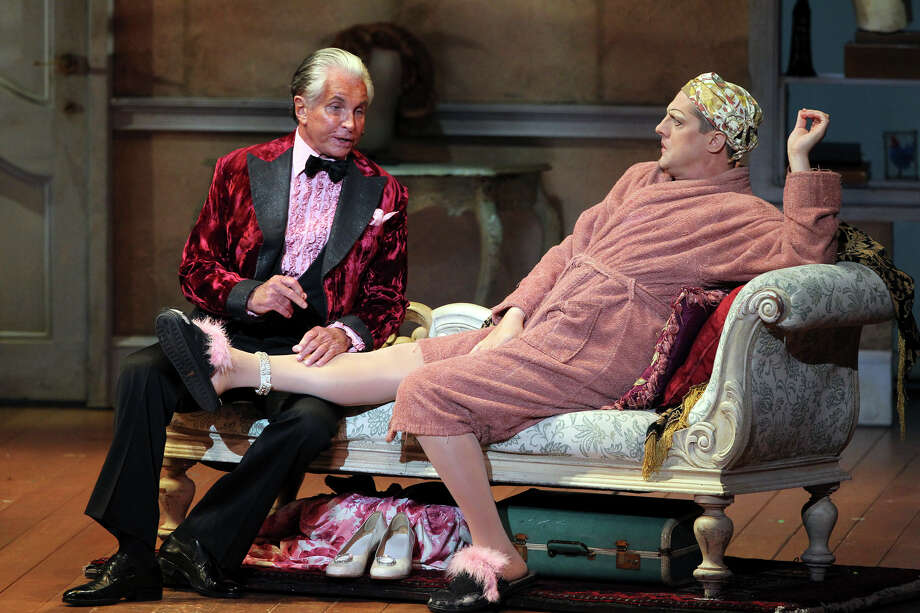 George Hamilton in 'La Cage Aux Folles,' 2012. Photo: TOM REEL, San Antonio Express-News / TREEL@EXPRESS-NEWS.NET