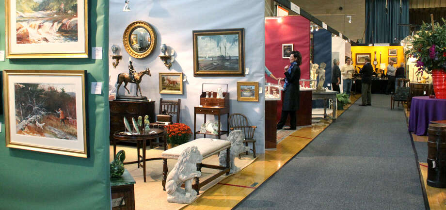 The 31st annual Washington Antiques & Design Show will kick off Friday at Washington Primary School. Find out more. Photo: Walter Kidd, Norm Cummings / The News-Times