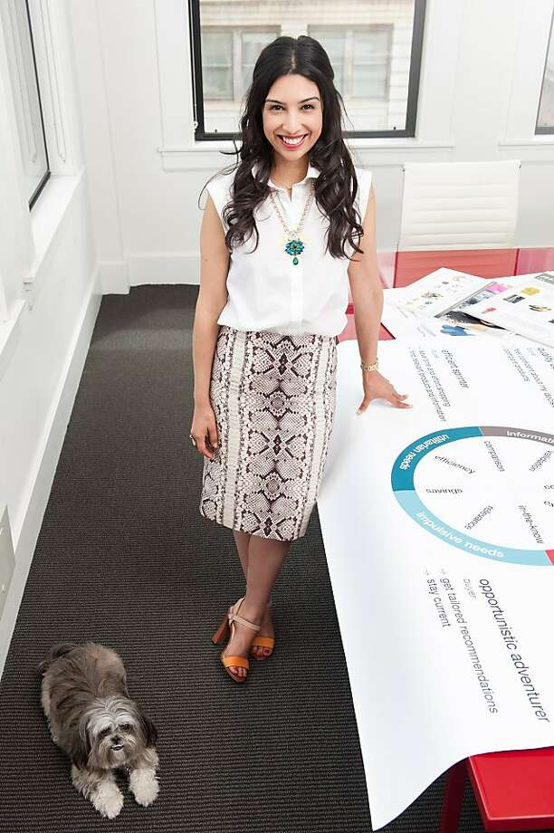 Christine Martinez is the creative director of Luvocracy, a website that fuses product recommendations with e-commerce. Photo: Maria Del Rio
