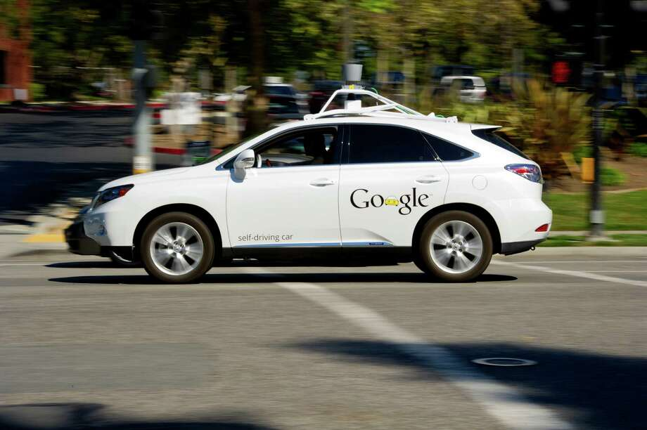 Google is developing technology for autonomous or driverless cars. The idea is that the car can drive itself by creating a 3D-generated map of the area based on its surrounding environment. Photo: David Paul Morris, Bloomberg / © 2013 Bloomberg Finance LP