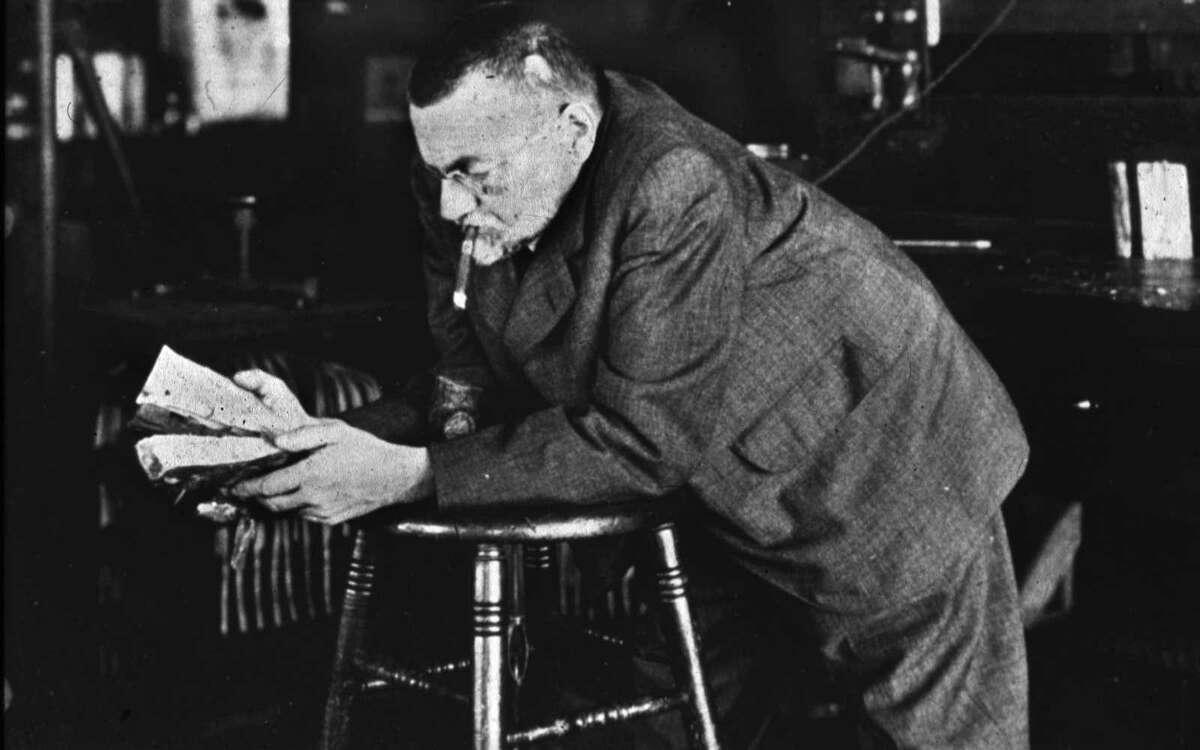 Undated historic photo of Charles Steinmetz