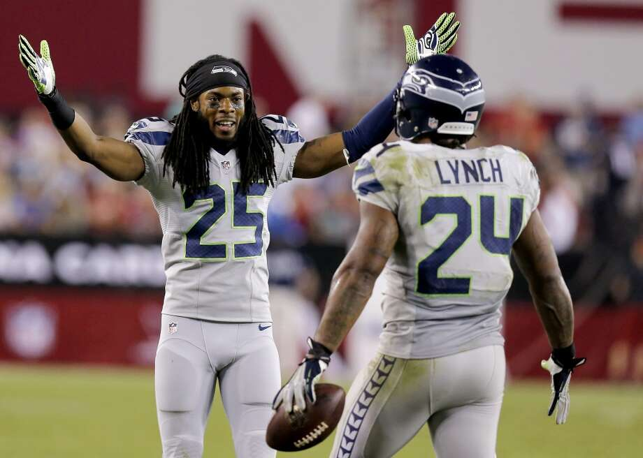 """Q: What did you see in the Seahawks as you watched them for the first seven weeks of the season?MR:""""We've grown up, definitely, across the board. We've learned how to win on the road; we've learned how to take that excitement, that juice that we have here at C-Link, we've learned how to put that on the road now and win some nice games on the road. We've learned how to make the big plays in the clutch, you know what I mean, and finish games. And obviously we can rush the passer now. So, that's awesome -- it was awesome to see."""" Photo: Ross D. Franklin, Associated Press"""