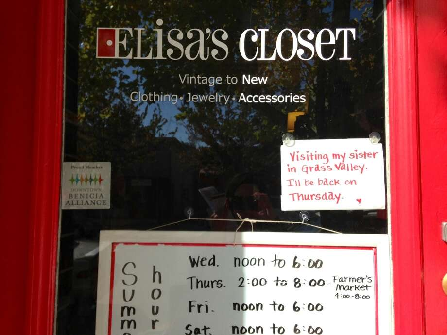 Elissa is visiting her sister in Grass Valley, everyone. So you can just wait until Thursday.