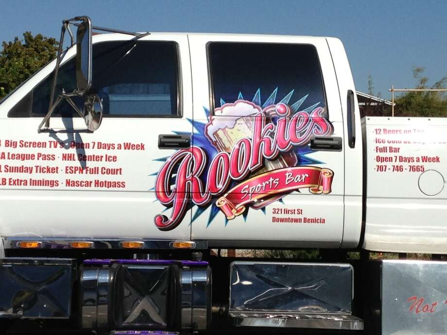 I did not actually see Rookie's, but if the truck is any indication, people in tank tops get in fights there.