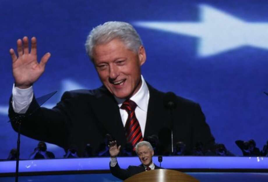 Bill Clinton Photo: AP