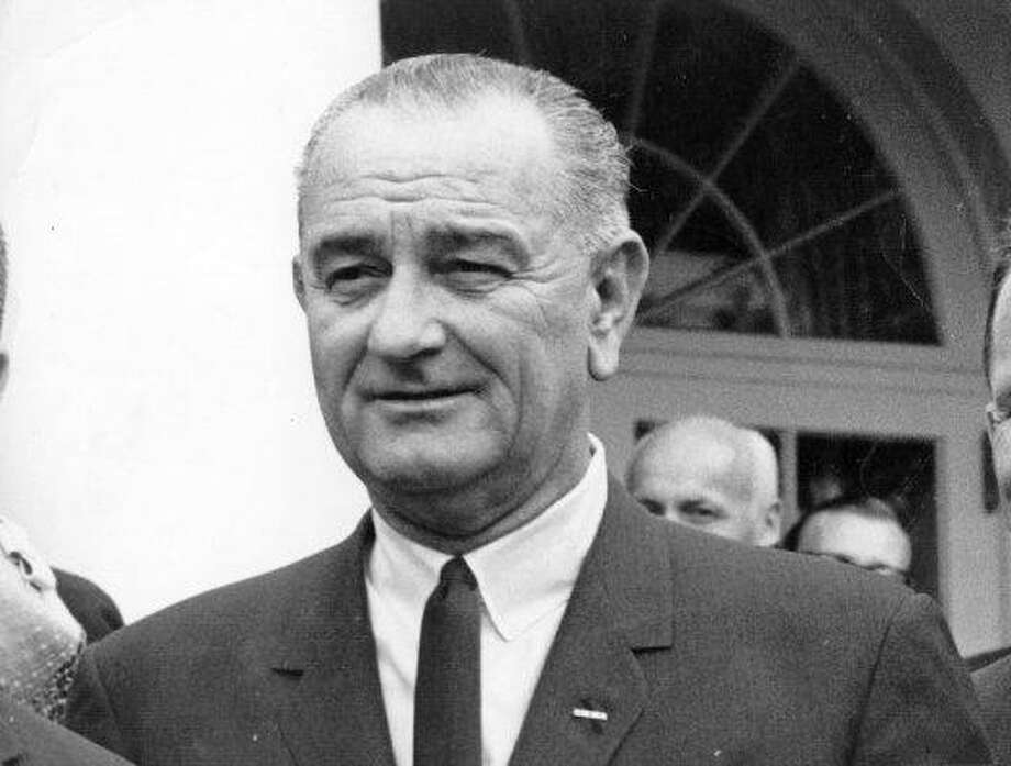 Lyndon Johnson Photo: Getty