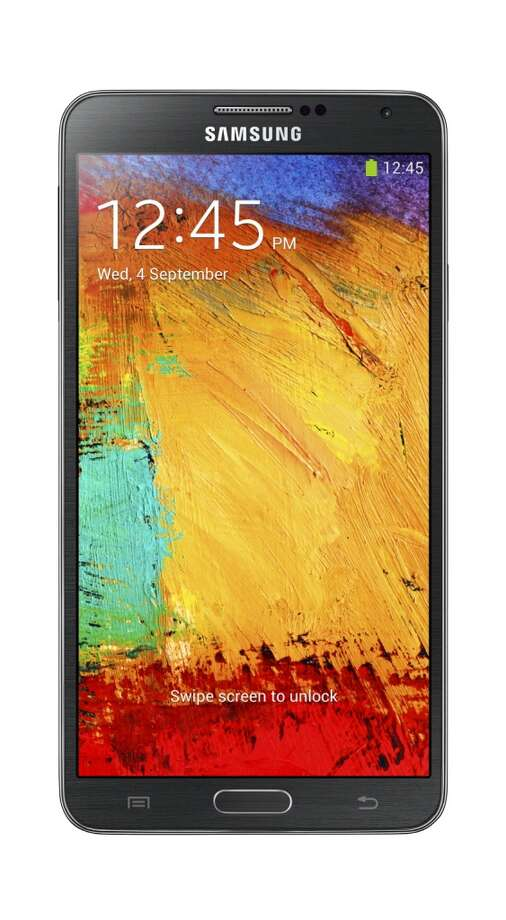Galaxy Note 3 front Photo: Samsung