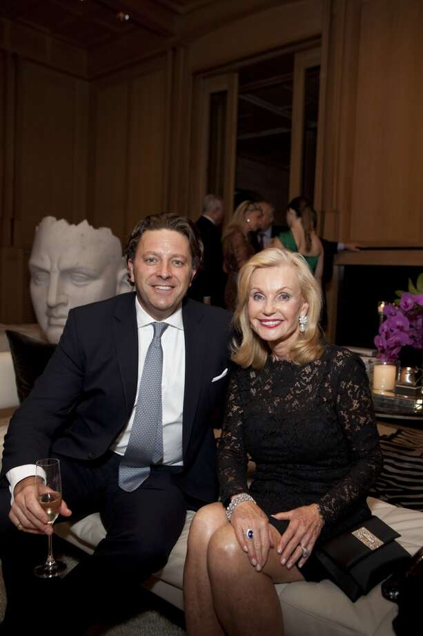 Asprey rare diamond expert Philip Baldwin and Pat Breen Photo: Jenny Antill