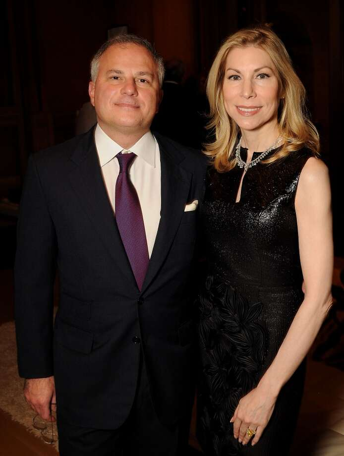Asprey Chairman John Rigas ahd his wife Darcy Photo: Dave Rossman, For The Houston Chronicle