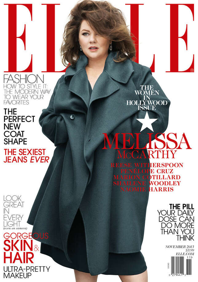 After Elle magazine was heavily criticized last week for covering its plus-sized cover model in an oversized coat, Melissa McCarthy has defended the magazine. She told Eonline.com that she chose the coat herself.