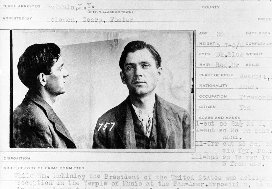 Leon Czolgosz, murderer of President William McKinley, shown in September 1901. Photo: Associated Press / AP1901