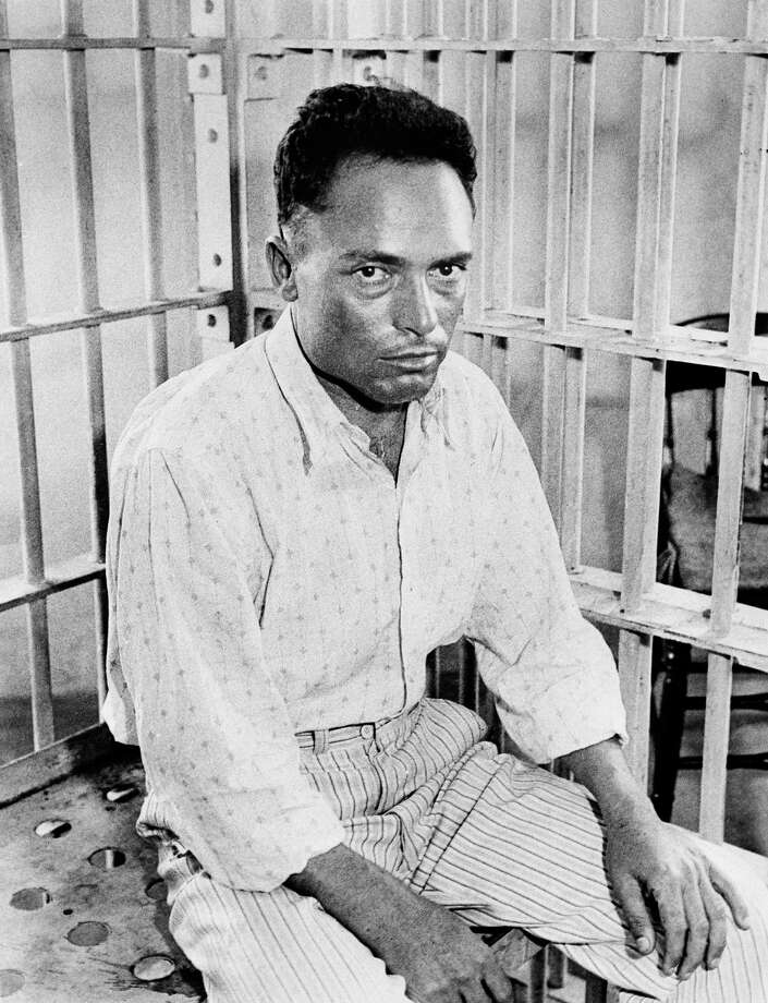 Giuseppe Zangara, a bricklayer from N.J. in a Miami, Fla. jail, after his attempt to assassinate U.S. president-elect Franklin D. Roosevelt. Photo: Uncredited, Associated Press / AP1933