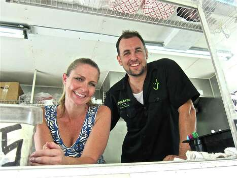 Taco Nuts food truckChef L.J. Wiley (here with his girlfriend Brandy Stephenson) of Taco Nuts food truck is known throughout the city. The chef, whom foodies will remember for the invention and 