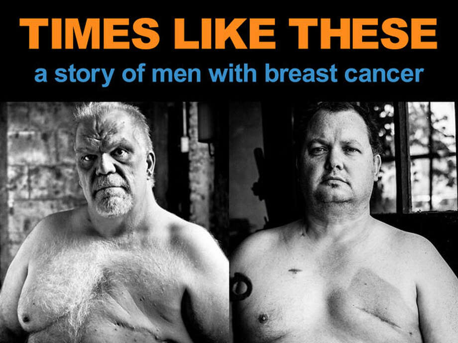 Bob DeVito, of Waterbury, Conn. (left) and Bill Becker of Bridgeport, Conn. are featured in the film Times Like These, about male breast cancer. New Canaan filmmaker Nick Sadler is using the crowd-funding website Kickstarter to raise money to complete the film. Photo: Contributed Photo / Connecticut Post Contributed