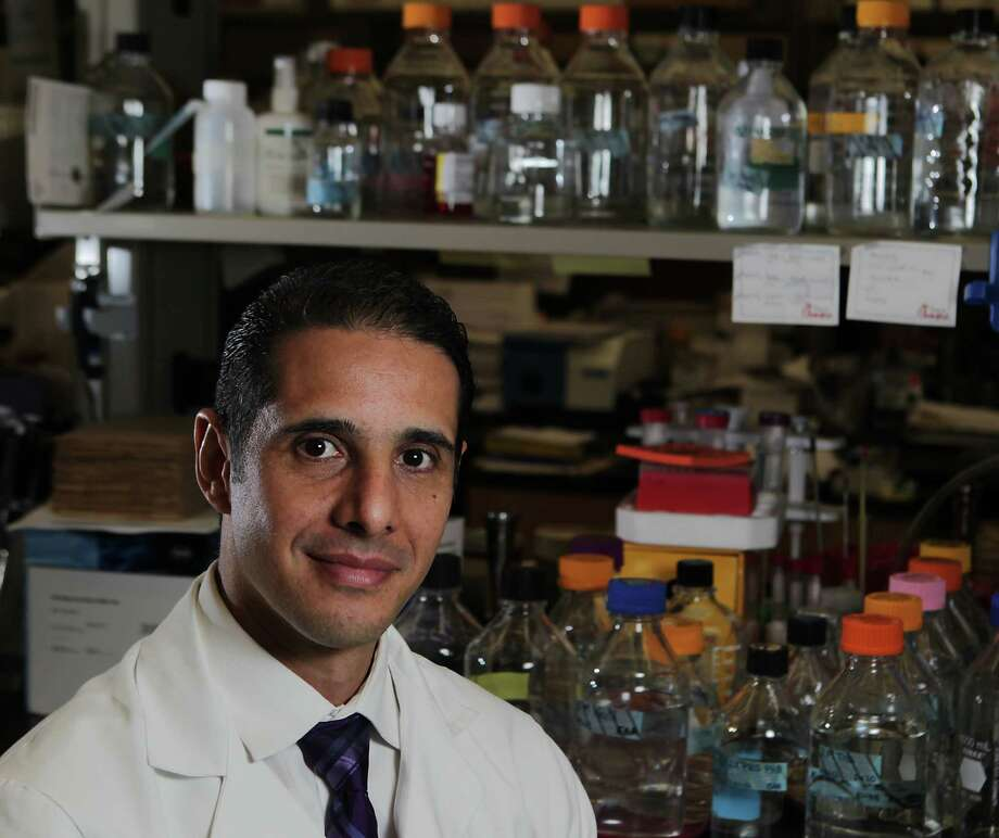 Dr. Cesar Arias of the University of Texas Medical School at Houston says problems associated with drug-resistant bacteria has become a serious issue in the United States. Photo: James Nielsen, Staff / © 2013  Houston Chronicle