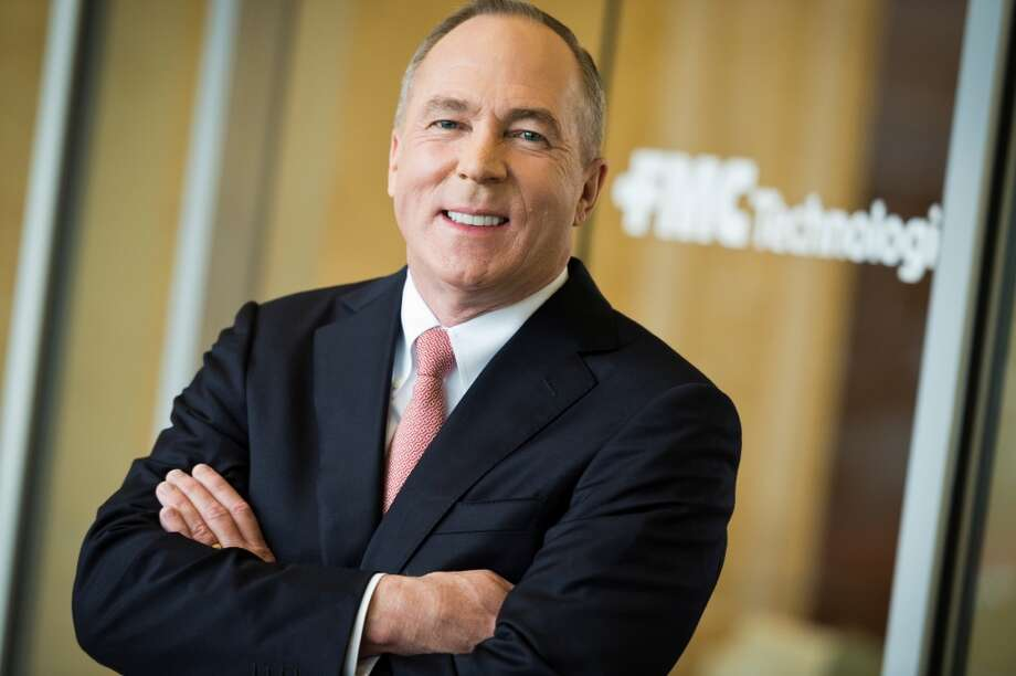 John Gremp, chairman and CEO of FMC Technologies, announced has that he will step down Nov. 30, 2013 after 40 years at the company. Photo: Courtesy Photo, FMC Technologies