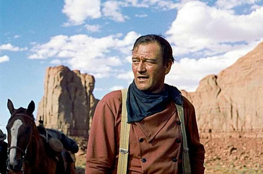 In 1971, John Wayne said in an interview with Playboy that he believed in white supremacy,
