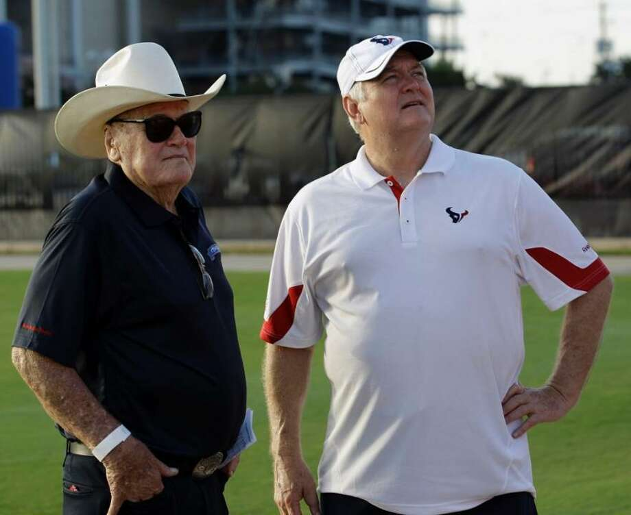 Bud's football influence still felt with Wade on the Texans sideline.