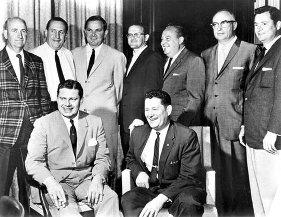 "Bud Adams and the ""Foolish Club"" launching the AFL."