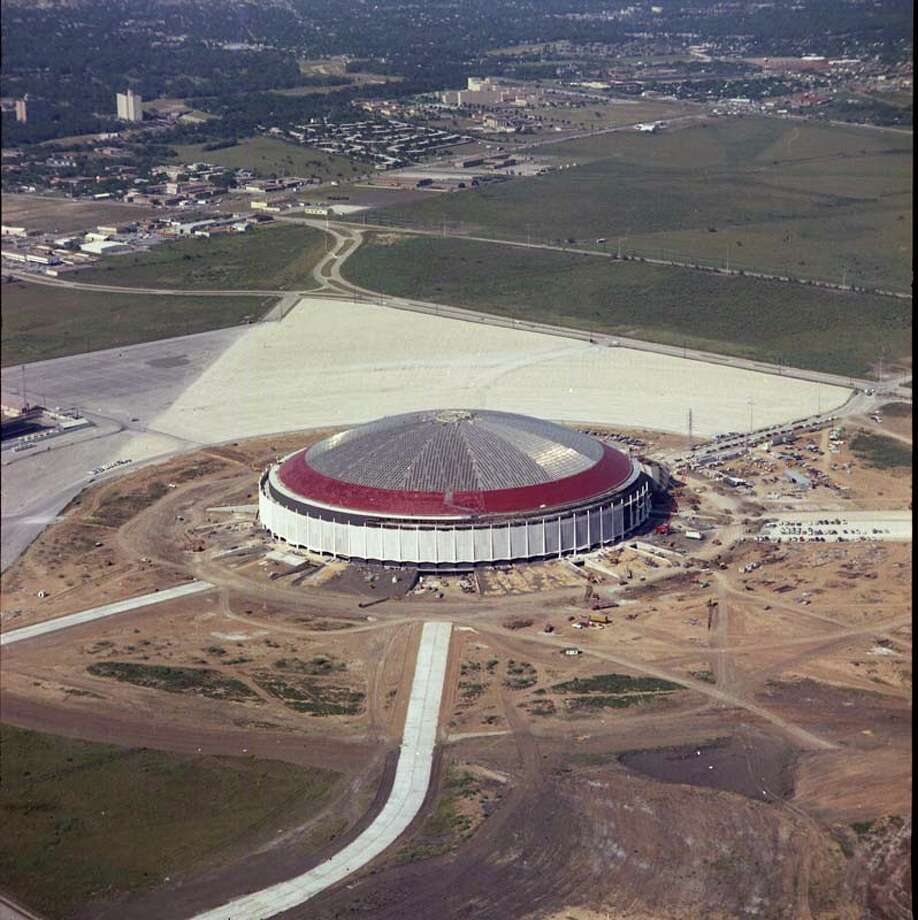 The iconic Astrodome was constructed in the '60s and opened in 1965. Photo: Unknown, Houston Post / Post negatives file