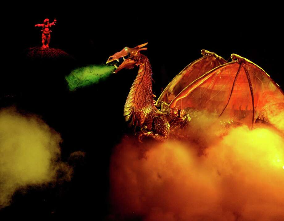 """Ringling Bros. and Barnum & Bailey will bring its """"Dragons"""" circus to Bridgeport, Conn.'s Webster Bank Arena through Oct. 27, 2013. It is one of many activities taking place in the region this weekend. Photo: Contributed Photo / Stamford Advocate Contributed"""