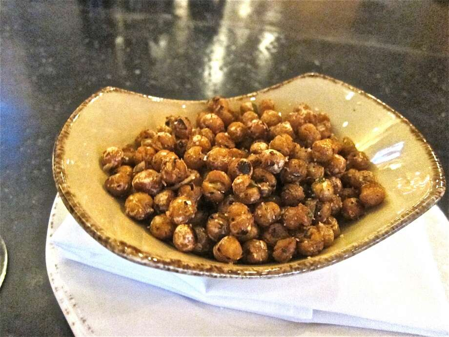 Fried garbanzos, the bar snack at Osteria Mazzantini. Photo: Alison Cook