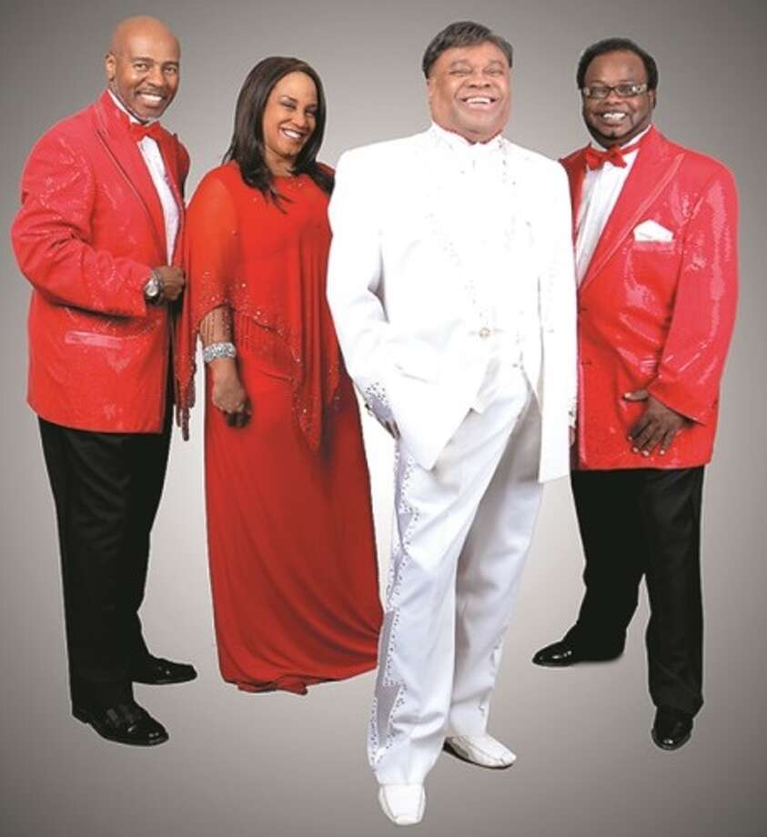 Sonny Turner, former lead singer for The Platters, second from right