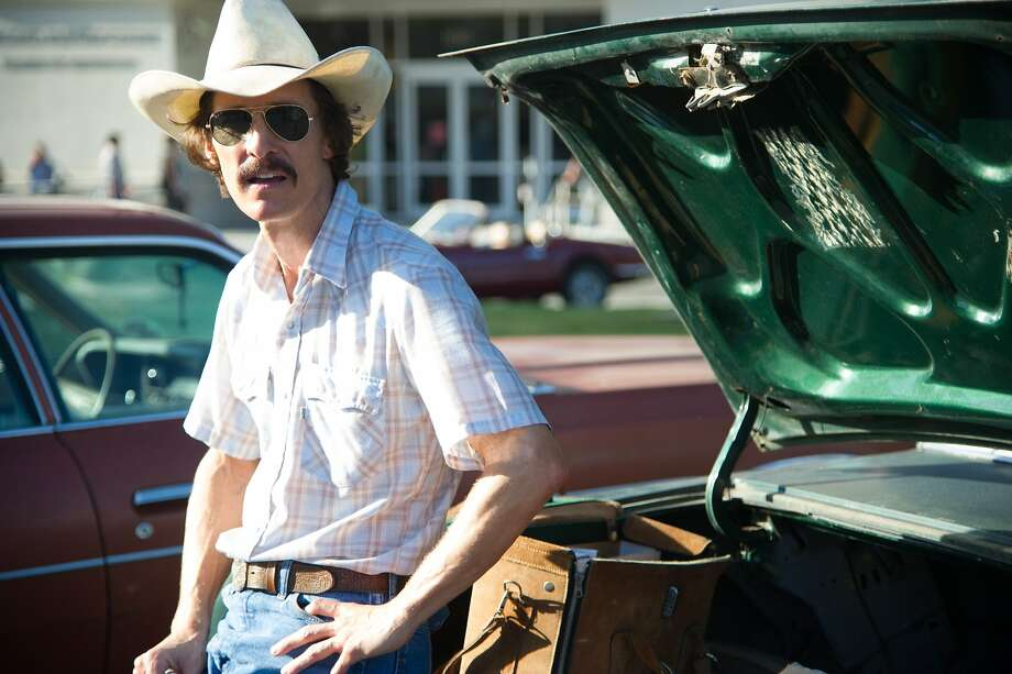 "Matthew McConaughey in ""Dallas Buyers Club,"" based on a true story of an HIV positive man in the 80s who tried any means possible to stem his disease and others'. AMF_6986 (70 of 376).NEF Photo: Focus Features"
